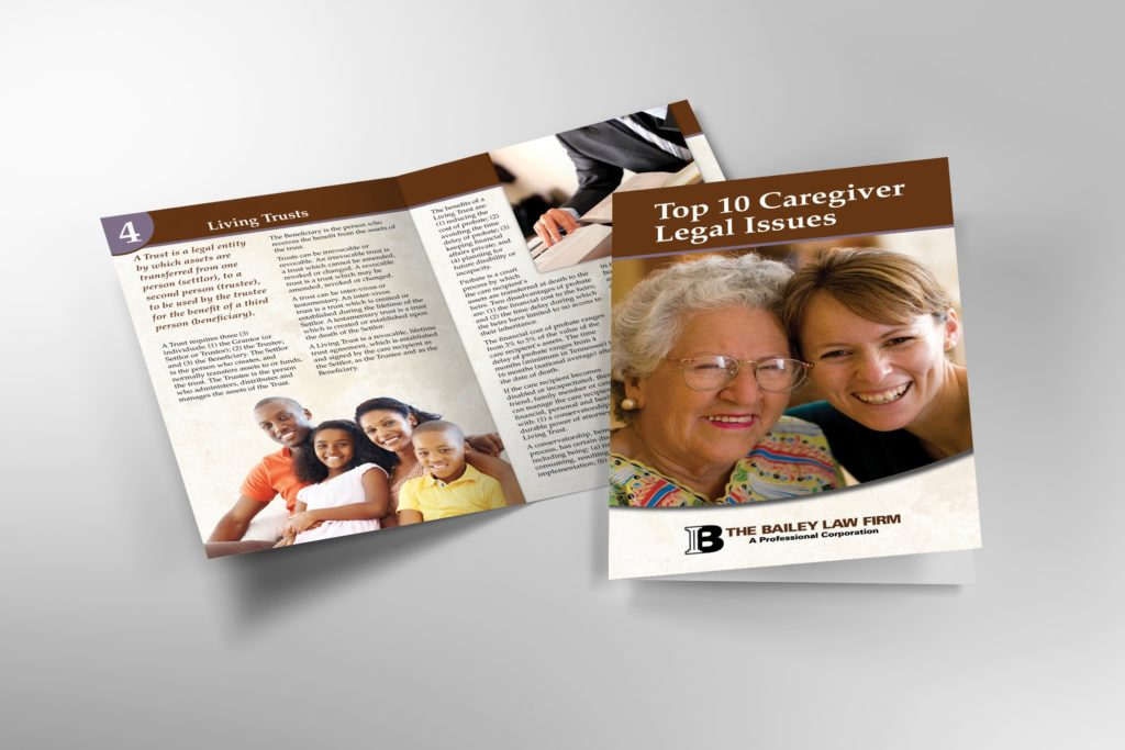 Vales Advertising - The Bailey Law Firm booklet