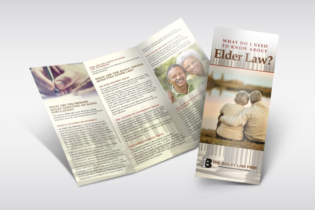 Vales Advertising - The Bailey Law Firm brochure
