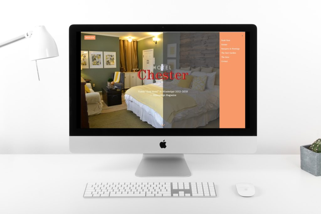 Vales Advertising - Hotel Chester website