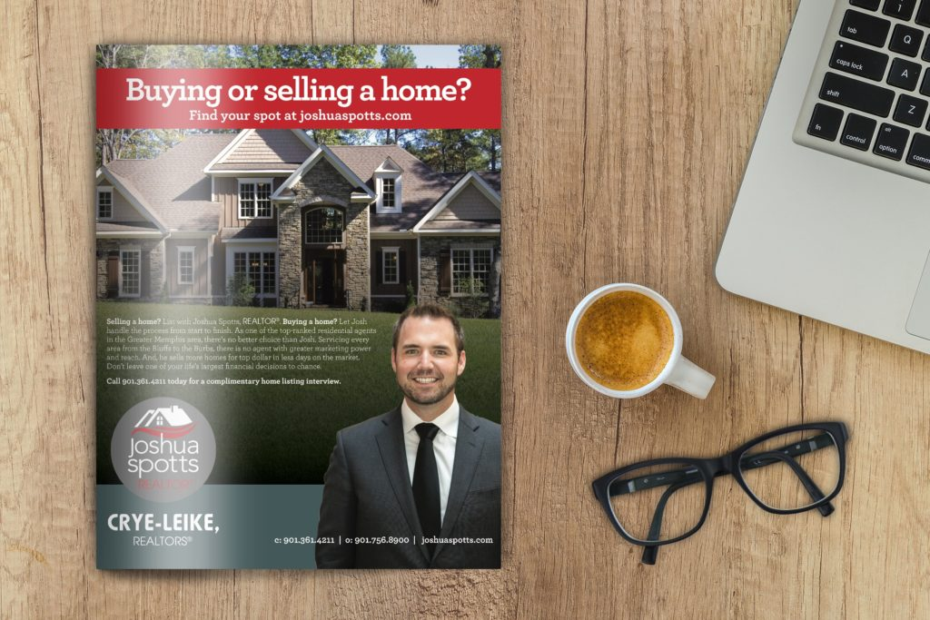 Vales Advertising - Joshua Spots Realtor magazine ad