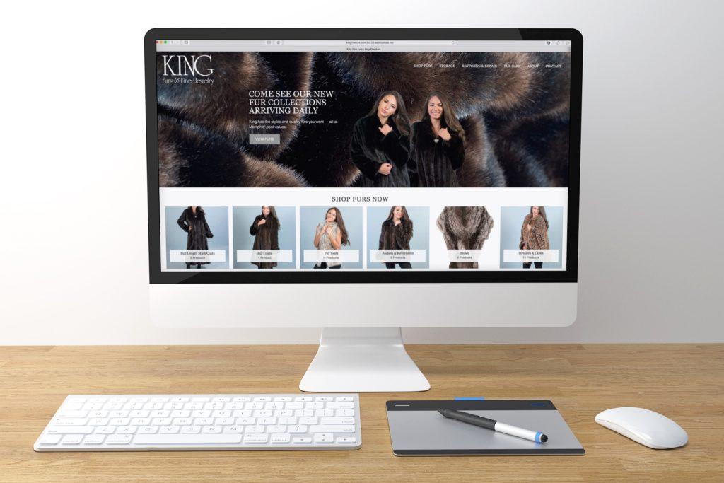 Vales Advertising - King Furs website