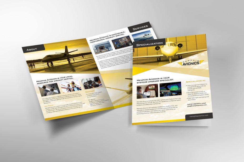 Vales Advertising - Memphis Avionics brochure