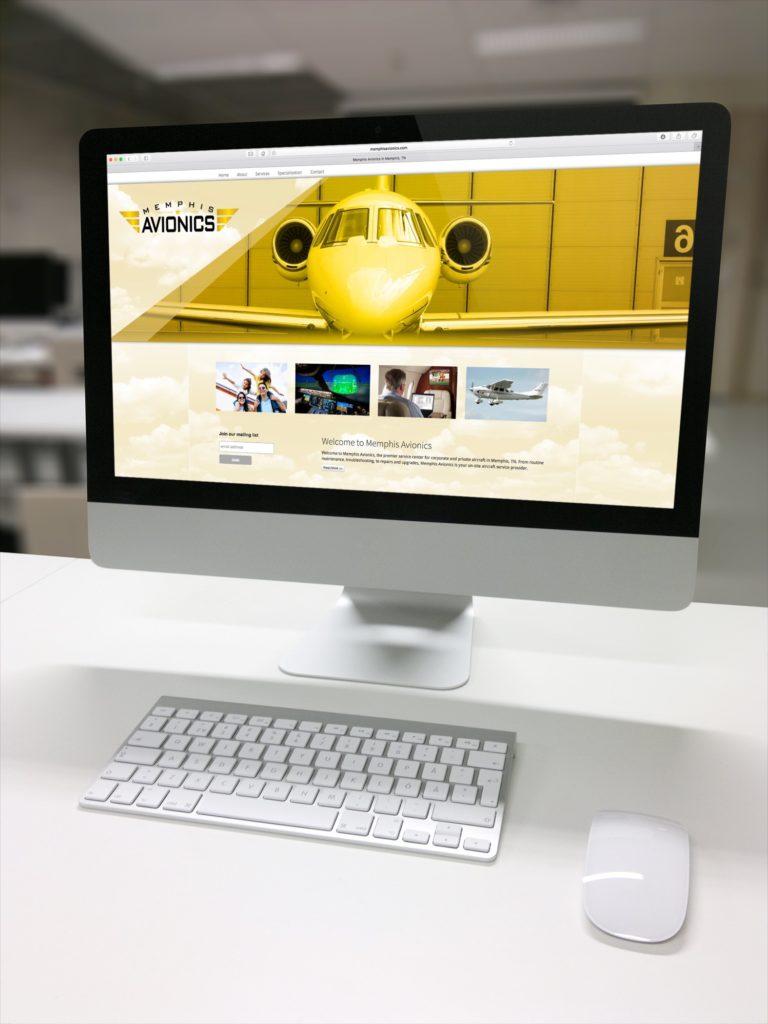 Vales Advertising - Memphis Avionics website