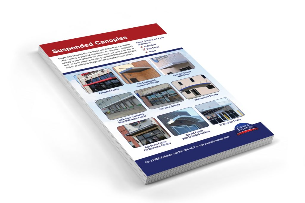Vales Advertising - Parasol Awnings sales flyer