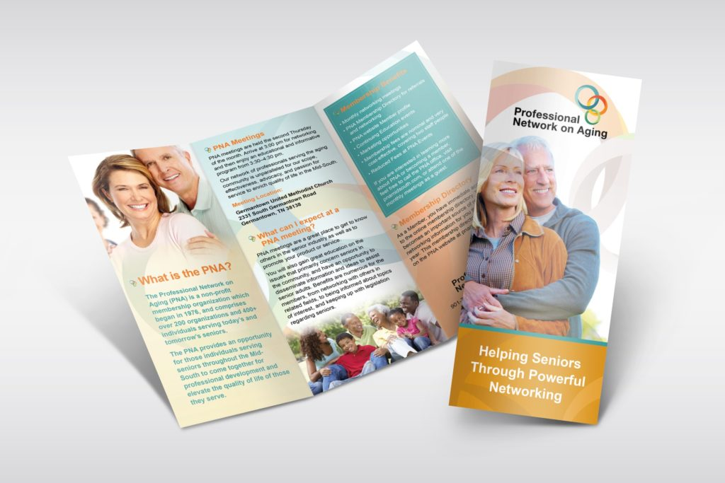 Vales Advertising - Professional Network on Aging brochure