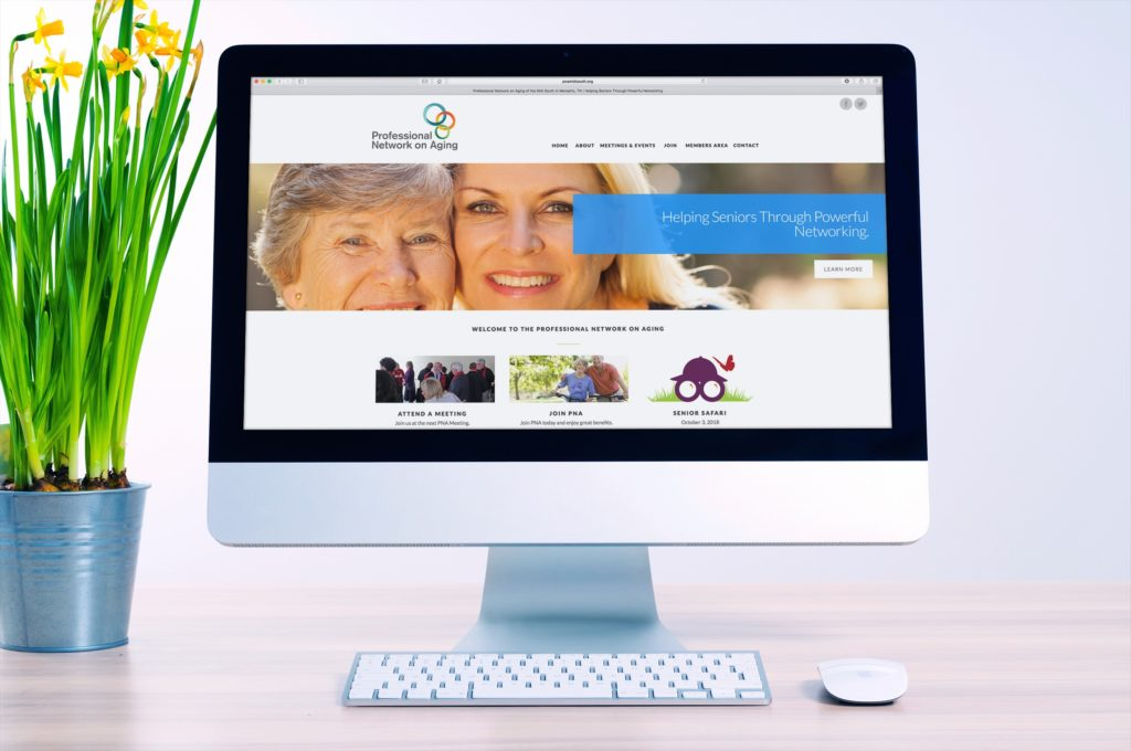 Vales Advertising - Professional Network on Aging website