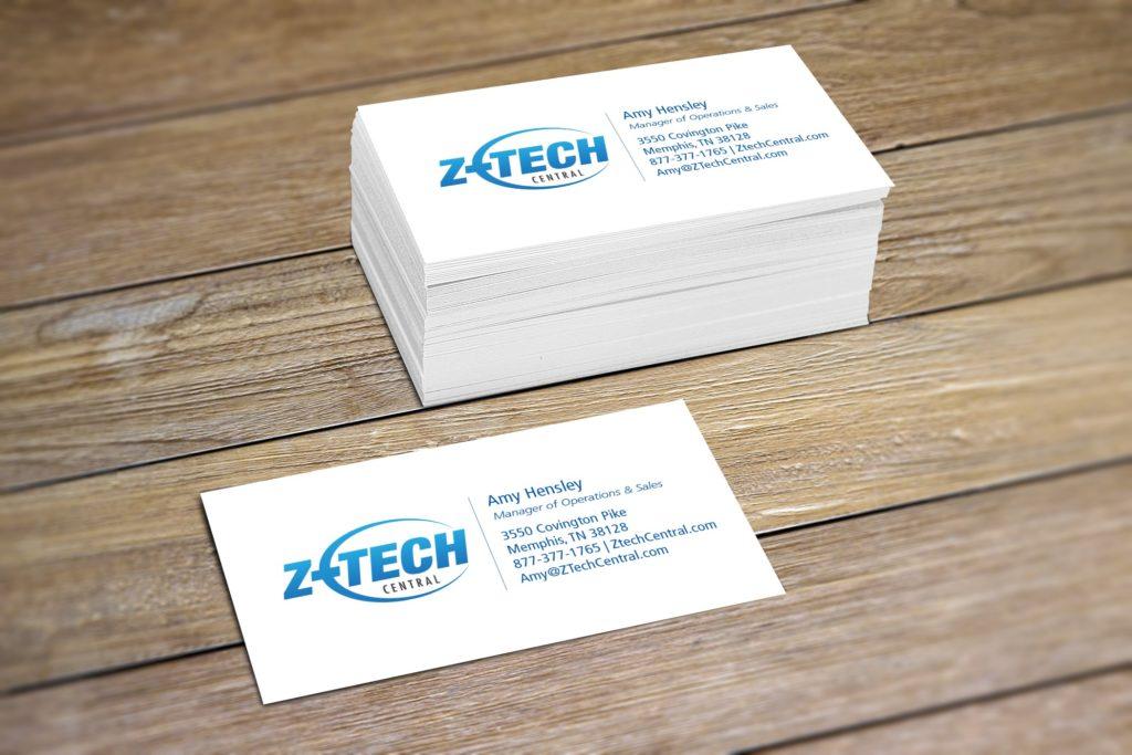 Z-Tech Business Card