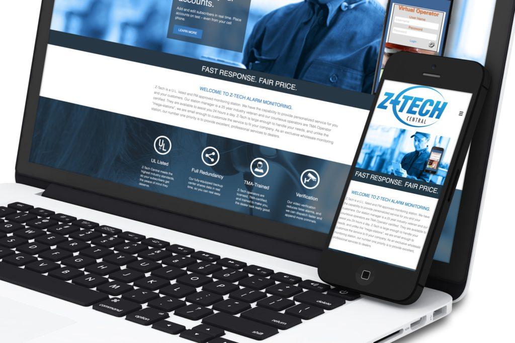 Vales Advertising Z-Tech Central website