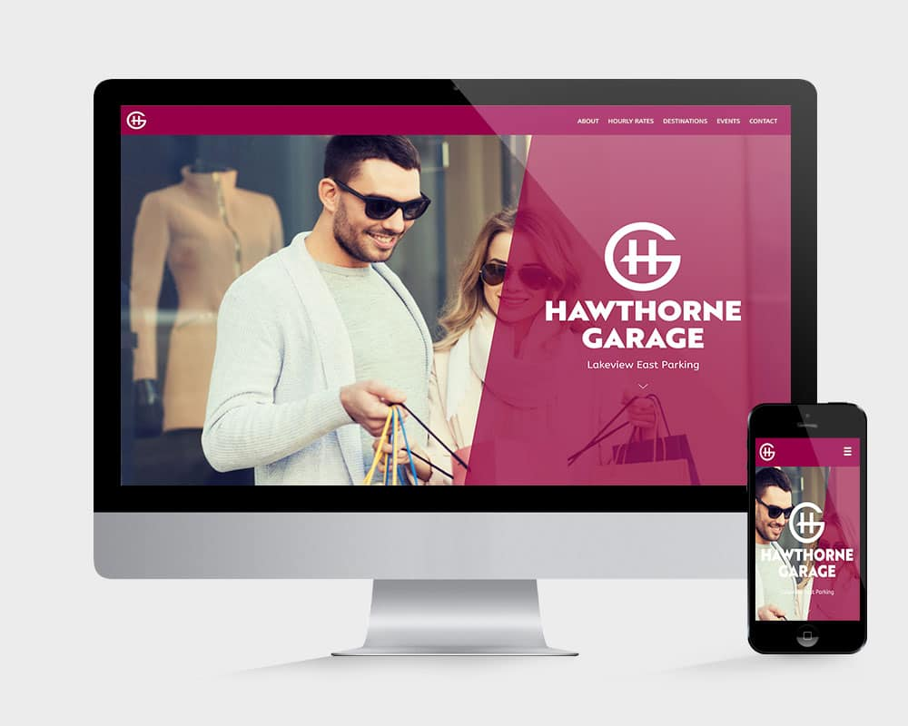 Vales Advertising - Hawthorne Garage website